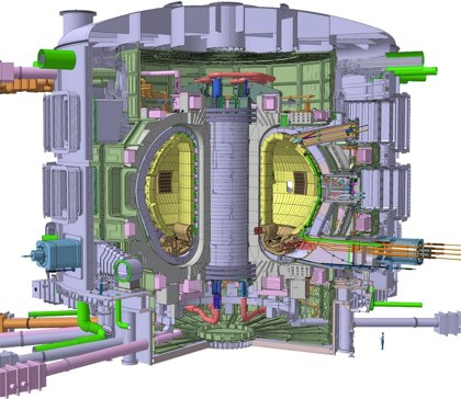 ITER Reactor - Click to enlarge in another window