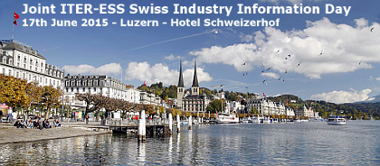 Joint ITER-ESS Swiss Industry Information Day
